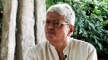 Video : Gopal Krishna Gandhi on 'Of a Certain Age'