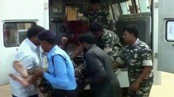 Video : Dantewada landmine blast: Naxals target bus carrying jawans, two killed
