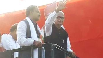 Video : LK Advani sets off on his sixth rath yatra