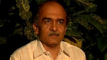 Video : The answer to violence is not violence: Prashant Bhushan