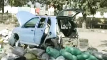 Video : Car packed with explosives was meant for Delhi
