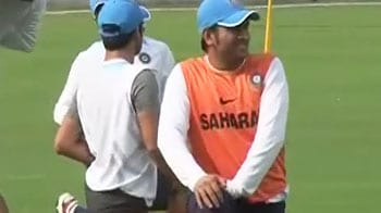 Team India prepares for England