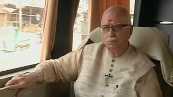 Video : Don't need to announce I'm not a contender for PM's post: Advani to NDTV