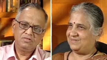 Video : Narayana Murthy on making of Infosys