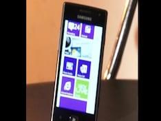Review: Samsung Omnia W