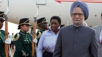 Video : PM in Pretoria; to discuss terrorism, piracy