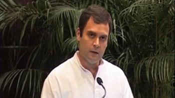Video : Globalisation excludes many: Rahul Gandhi