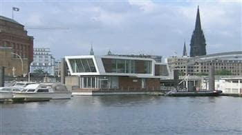 Video : The floating homes of Hamburg