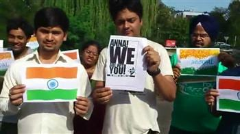 Video : 'Anna, we are with you!'