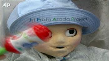 Video : Baby robot to simulate human development