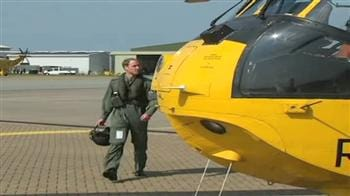 Video : Prince William's day job as rescue pilot