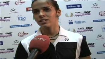 Video : Saina looking to go all the way