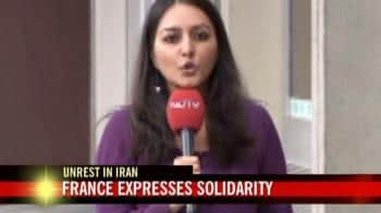 Video : Unrest in Iran: French group expresses solidarity