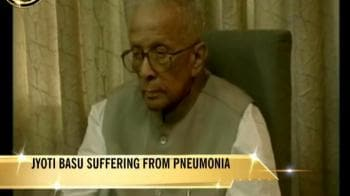 Video : Jyoti Basu put on ventilator