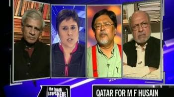 Video : M F Husain, Indian no more?