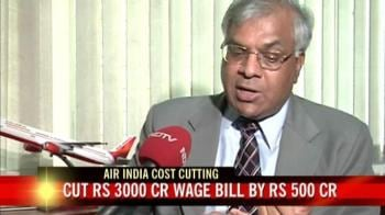 Video : Cash-strapped Air India looking at pay cuts