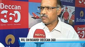 Video : RIL buys 35% stake in Deccan 360 for Rs 100 cr