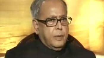 Video : Finance Minister talks to Prannoy Roy
