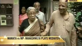 Video : Mahasweta Devi mediates in Trinamool row