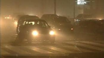 Video : Delhi - no let up in fog conditions