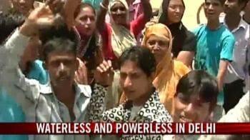 Video : Water wars in Delhi