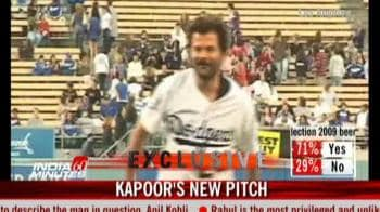 Video : Anil Kapoor's new ball game