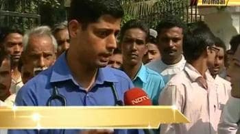 Video : Mumbai: Doctors beaten, go on strike