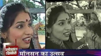 Video : MP celebrates monsoon as a festival