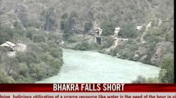 Video : India parched: Bhakra falls short