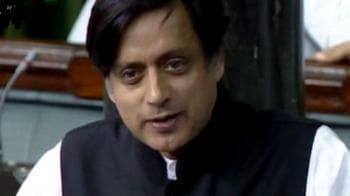 Video : Tharoor resigns