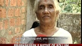 Video : NDTV travels to Prabhakaran's village