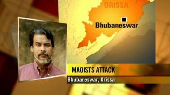 Video : Maoists blow up mobile towers in Orissa