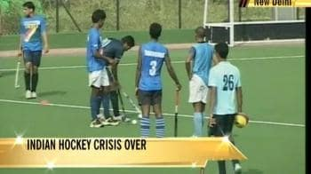 Video : Indian hockey crisis over