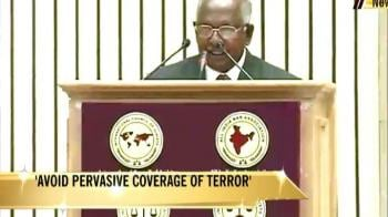 Video : CJI's warning on terror coverage