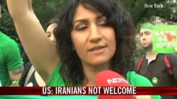 Video : Iranians hold solidarity march in New York