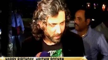 Video : Hrithik Roshan turns 36