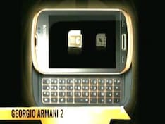 Samsung to launch Armani phone