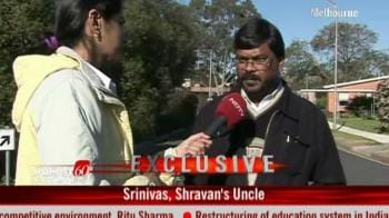 Video : Shravan scarred by racist attack: Uncle