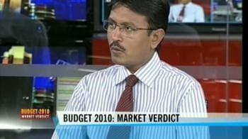 Video : Budget 2010: Market verdict