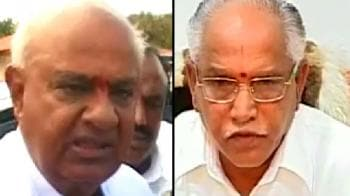 Video : New low in politics, Gowda abuses Yeddyurappa