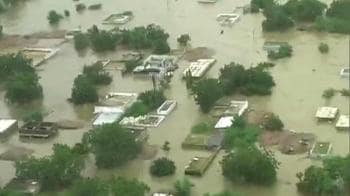 Video : Aerial shots of the flood fury