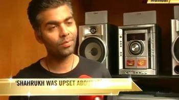 Video : Karan Johar reacts to SRK's detention