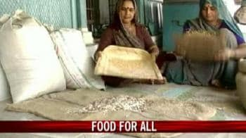 Video : Food Security Act on priority for UPA
