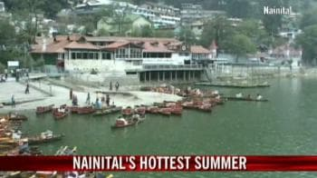 Video : Hottest summer in Nainital