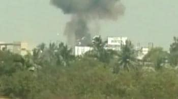 Video : Exclusive: Eyewitness video of Hyderabad crash
