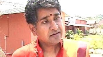 Video : Sex scandal allegation a conspiracy: Sachidananda Swamy