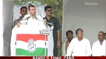 Video : Rahul's Tamil card