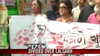 Video : Kolkata stands divided over Lalgarh