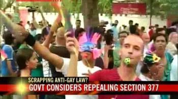 Video : Gay pride on the streets