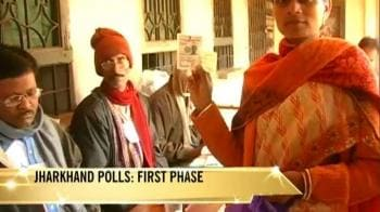 Video : Jharkhand polls begin amid tight security